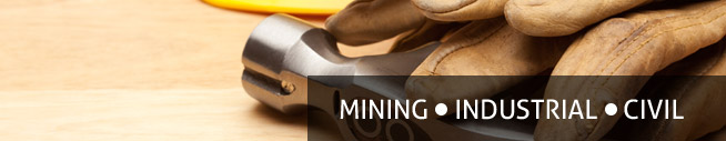 Teak Industrial Supplies for the mining, industrial and civil industry